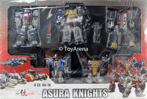Iron Factory IF-EX06-10 Asura Knights Action Figure Set of 5