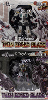 Iron Factory IF-EX17 IF-EX17L Norimune & IF-EX17S Muramasa 2-Pack Twin Edge Blade Figure Set