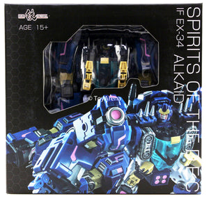 Iron Factory IF-EX34 Alkaid Spirits of the D.E.C. Action Figure