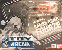 S.H. Figuarts Fourze Stand & Effect Set Kamen Rider Action Figure (Item has Shelfware)