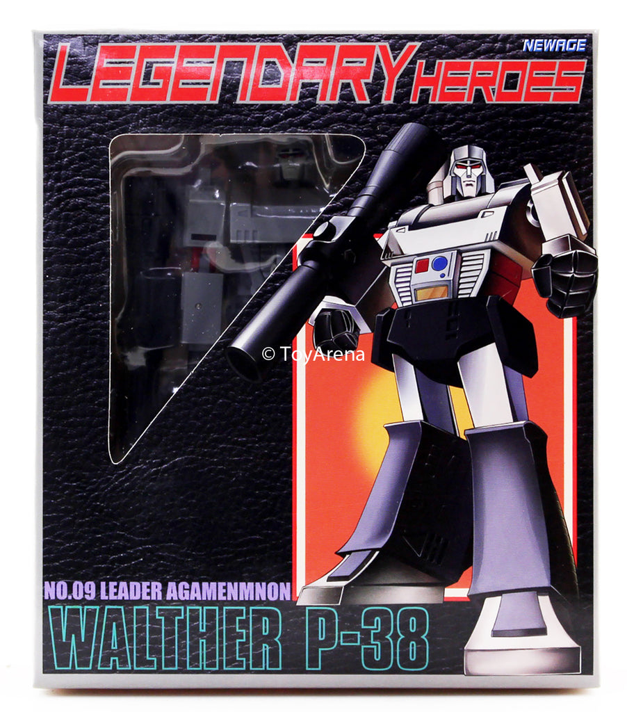 NewAge Legendary Heroes H9 No. 09 Leader Agamenmnon Walther P-38