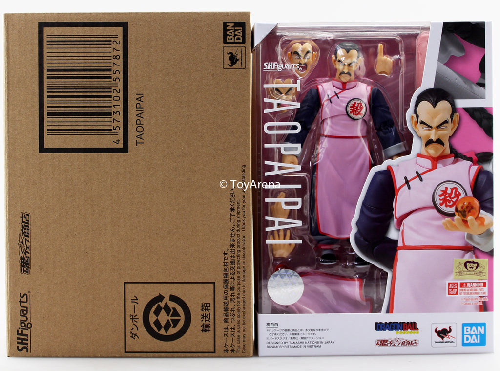 S.H. Figuarts Dragon Ball Tao Pai Pai Action Figure Japan Ver