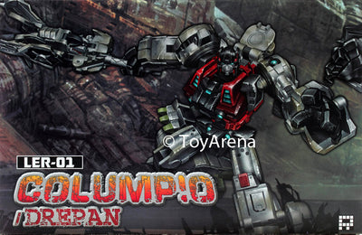 Fansproject Lost Exo Realm LER-01 Columpio & Derpan Action Figures