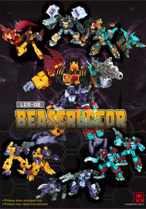 Fansproject LER-08 Beastructor Action Figure Set of 6