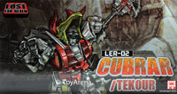 Fansproject Lost Exo Realm LER-02 Cubrar and Tekour Action Figures