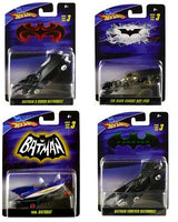 Hot Wheels Batman 1:50 Scale Series 03 Set of 4