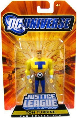 DC Universe Justice League Unlimited Fan Tom Turbine Action Figure