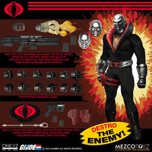 Mezco Toys ONE:12 Collective G.I. Joe Destro Action Figure