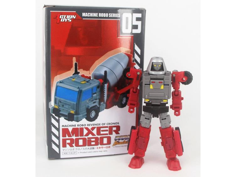 Machine Robo MR-05 Mixer Robo Figure