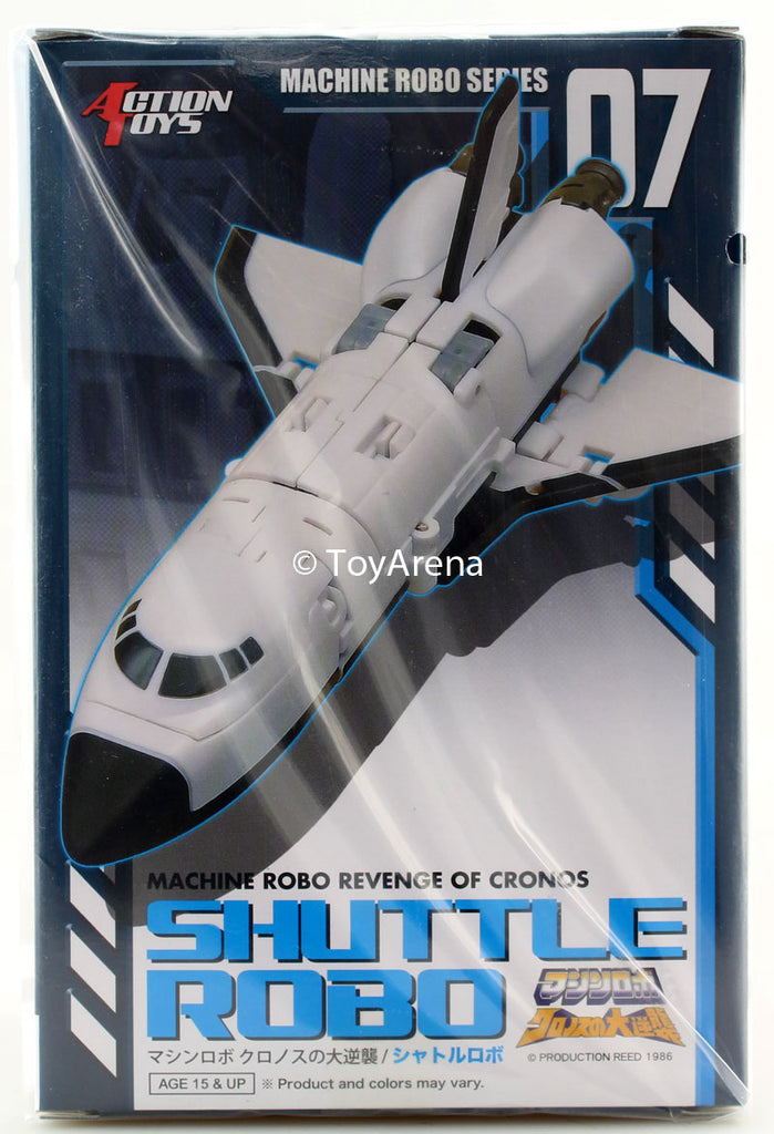 Machine Robo MR-07 Shuttle Robo Figure
