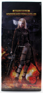 Star Man 1/6 Windbreaker Female Killer of Battle Royales MS-002 Sixth Scale Action Figure