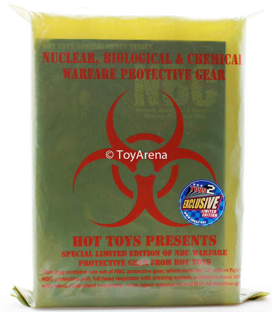 Hot Toys 1/6 NBC Warfare Protective Gear Special Limited Edition Green Polybag