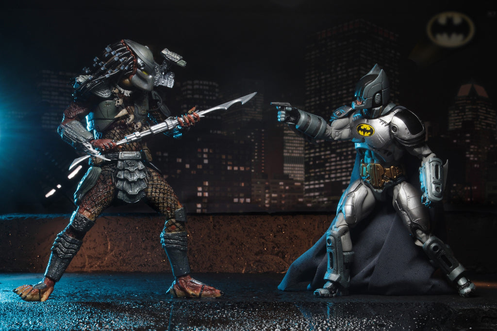 "SDCC 2019 NECA 7"" Batman vs Predator 2-Pack Action Figure Exclusive"