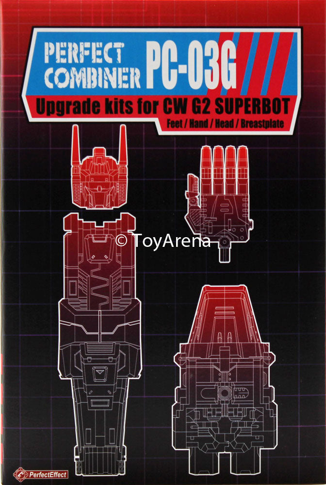 Perfect Effect PC-03G Perfect Combiner CW G2 Superbot (G2 Superion) Upgrade Set