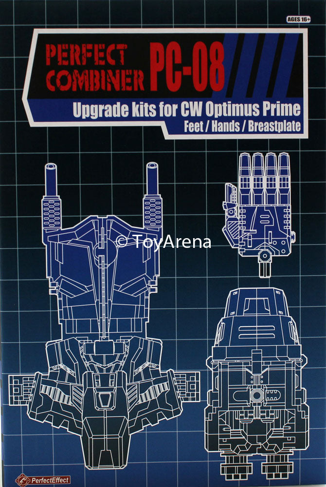 Perfect Effect PC-08 Perfect Combiner Optimus Prime Upgrade Set