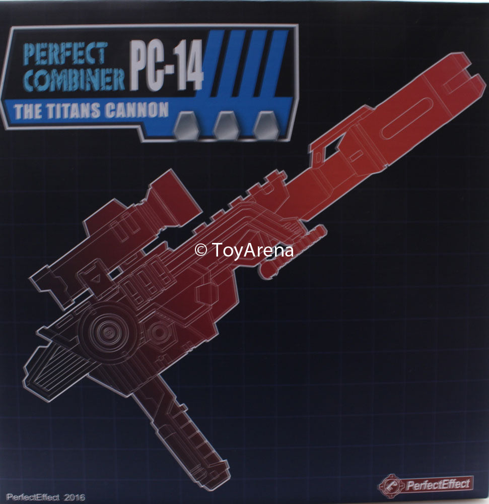 Perfect Effect PC-14 Perfect Combiner The Titans Cannon Upgrade Kit