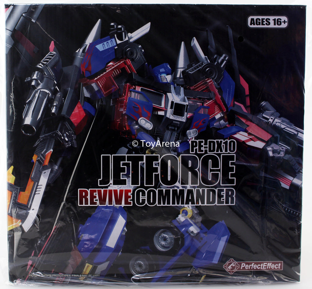 Perfect Effect PE-DX10 Jetforce Revive Commander Action Figure