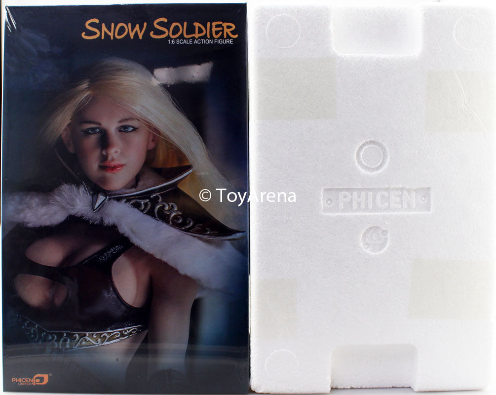 Phicen 1/6 Snow Soldier Queen Seamless Steel Body w/ Base PL-2016-80