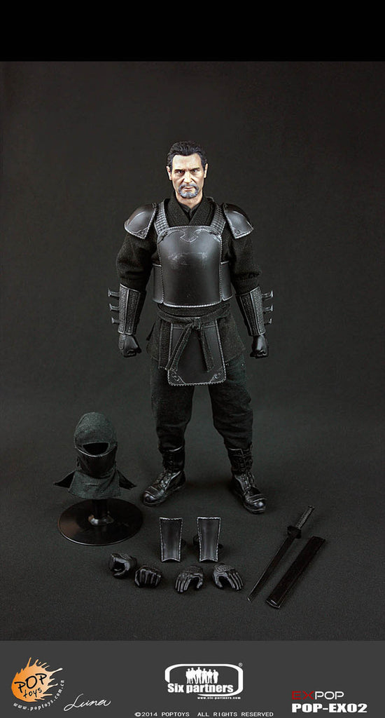 Pop Toys 1/6 The Leader of Shadow Alliance Master Ninja Armor Version