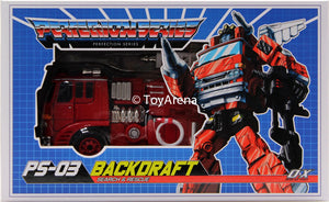 Ocular Max Perfection Series PS-03 Backdraft Action Figure