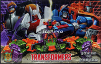 Botcon 2014 Transformers Exclusive Pirates Vs Knights Box Set NO Certificate or Magazine