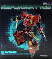 R-06 Reformatted Tigris the Shock Trooper Action Figure Feral Con Mastermind Creations