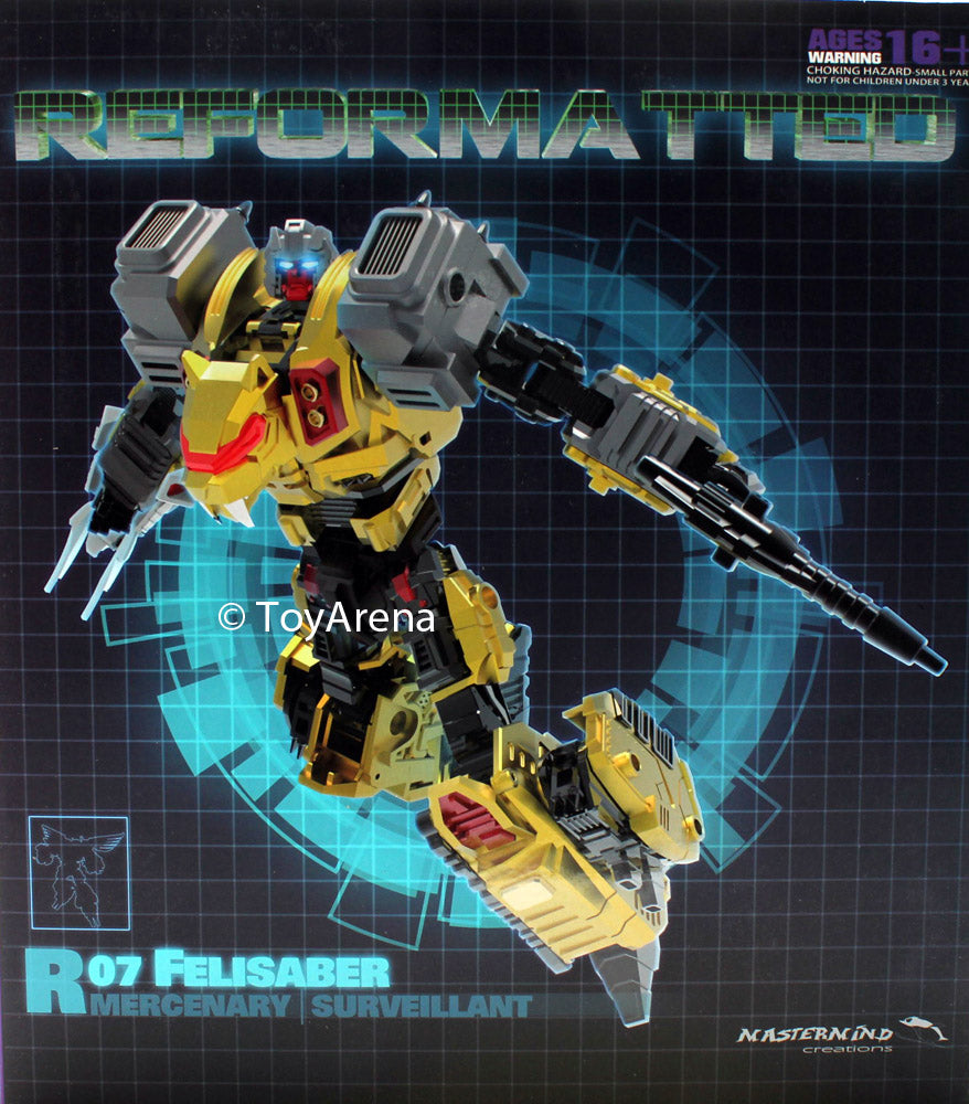 R-07 Reformatted Felisaber The Surveillant Mastermind Creations Feral Con