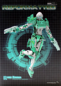 R-08Z Reformatted Zinnia Parapax Medic Mastermind Creations