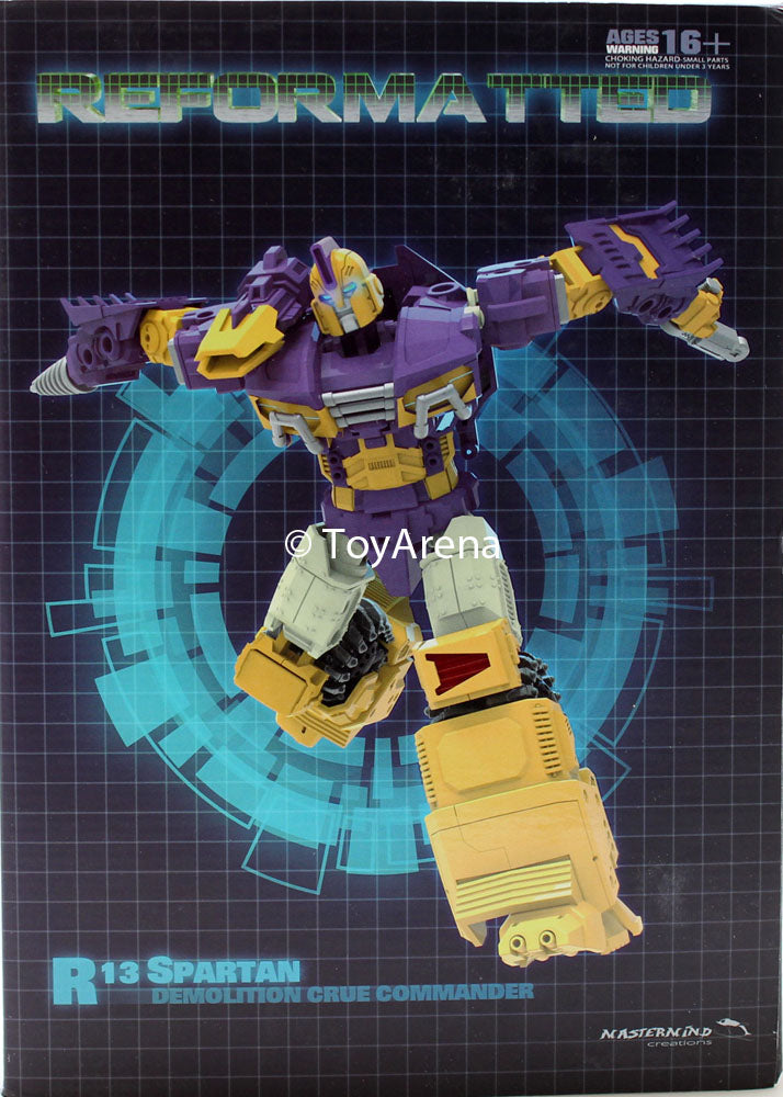 R-13 Reformatted Spartan Mastermind Creations Action Figure