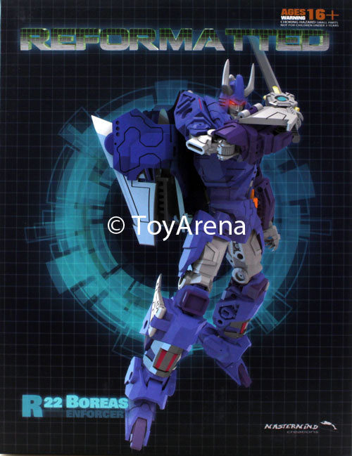 R-22 Reformatted Boreas Action Figure