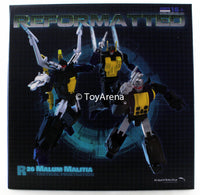 R-26 Reformatted Malum Malitia Mastermind Creations MMC Action Figure Set