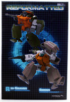 R-39 Reformatted Ebrius and Gravus MMC Mastermind Creations Action Figure Two Pack
