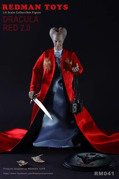 Redman Toys 1/6 Dracula Red 2.0 Sixth Scale Figure RM041