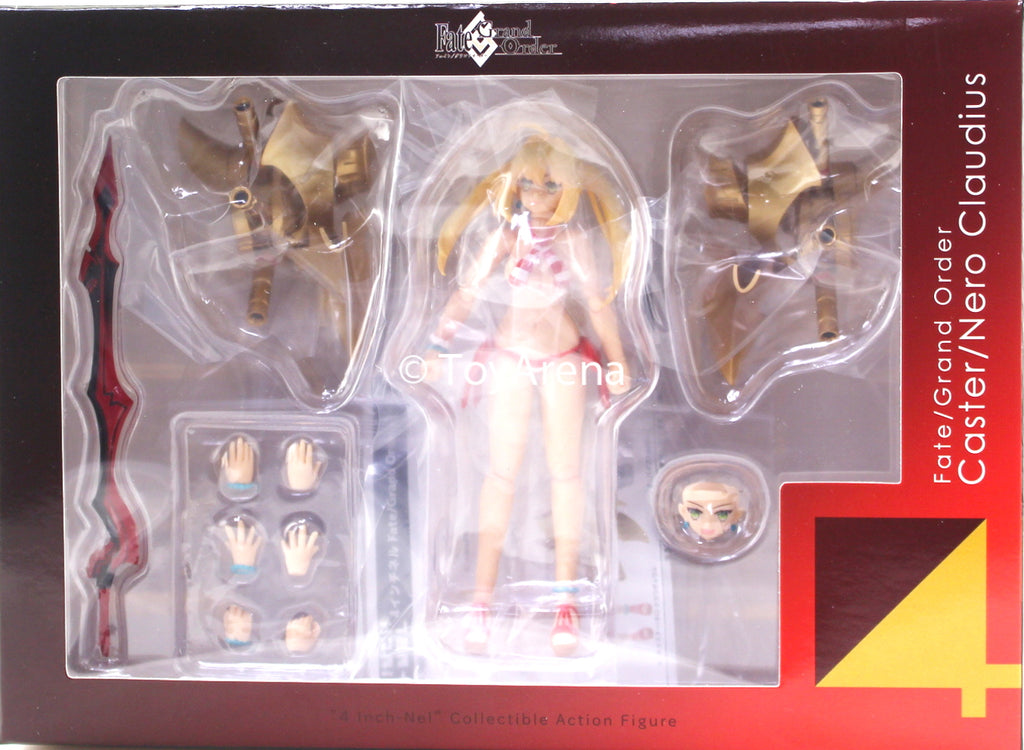 Sentinel Fate/ Grand Order Caster/ Nero Claudius 4inch-nel Action Figure