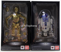 S.H. Figuarts C-3PO & R2-D2 Star Wars A New Hope Set Action Figure