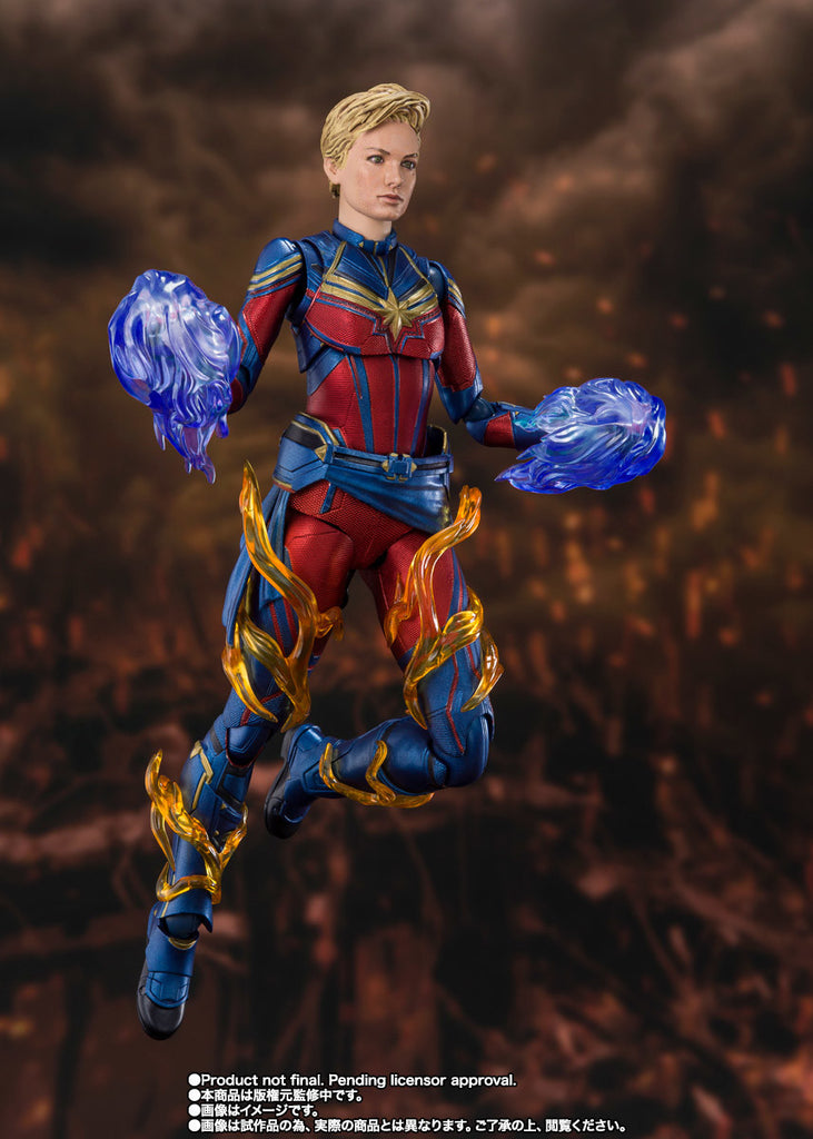S.H. Figuarts Avengers: Endgame Captain Marvel Action Figure