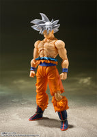 S.H. Figuarts Dragon Ball Super Son Goku Ultra Instinct Action Figure Japan Ver 5