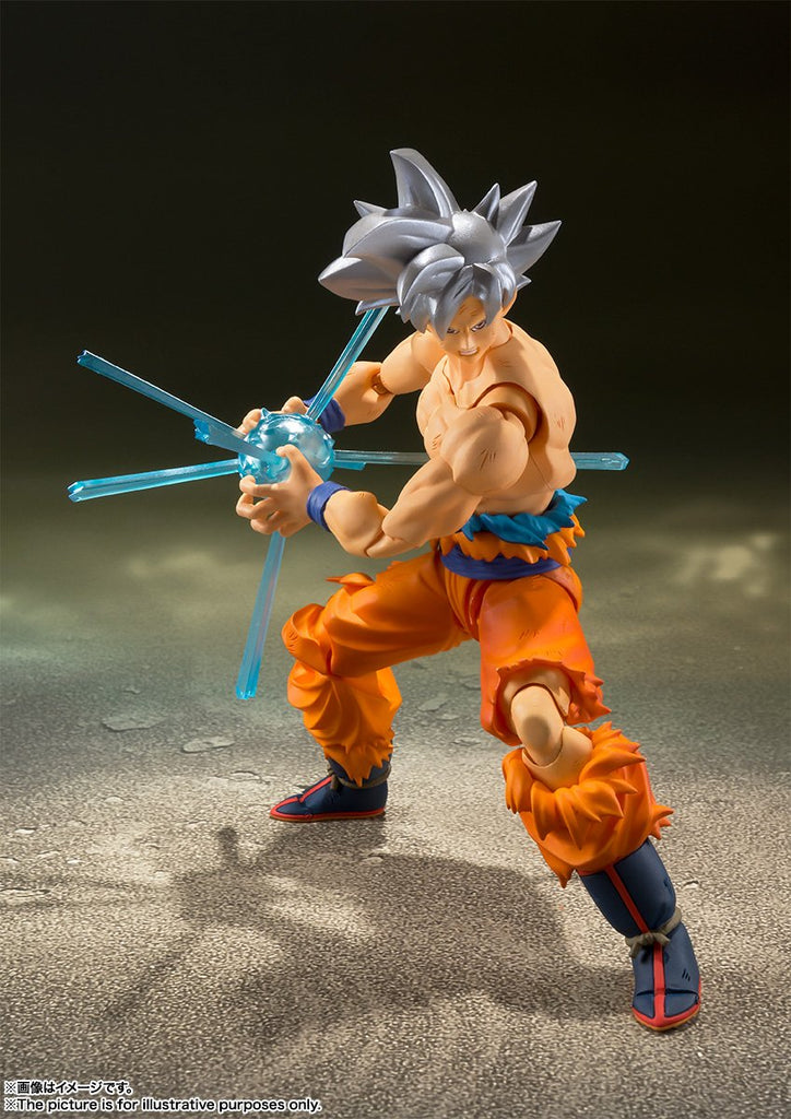 S.H. Figuarts Dragon Ball Super Son Goku Ultra Instinct Action Figure Japan Ver 1