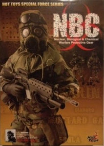 Hot Toys 1/6 NBC Nuclear, Biological and Chemical Warfare Protective Gear Sixth Scale Figure