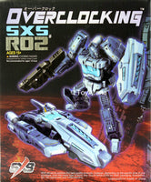SXS-R02 Overclocking Transformers Action Figure