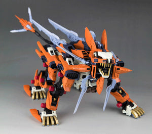 Kotobukiya 1/72 Zoids HMM #026 RZ-041 Liger Zero Schneider Marking Plus Scale Model Kit