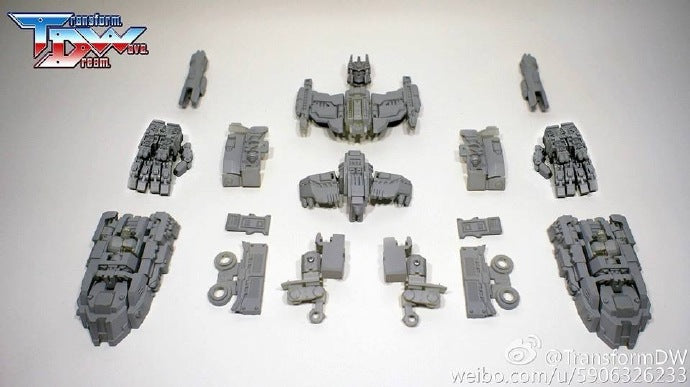 Transform Dream Wave TCW-02 Combiner Wars Defensor 1