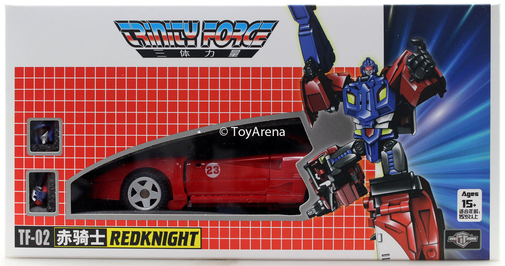 TFC Toys TF-02 Red Knight Trinity Force Combiner Piece
