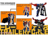 Xovergen TF-02 Transformers Trailerforce Godarmor Add-On Kit