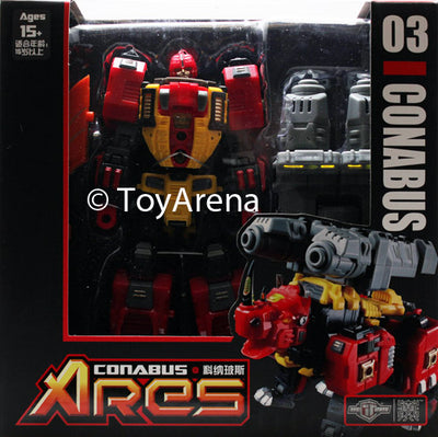 TFC Toys Project Ares TFC-03 Ares Conabus