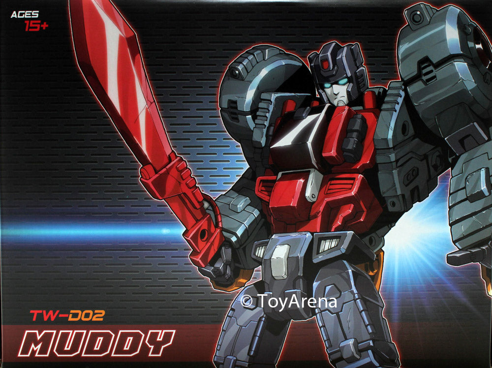ToyWorld TW-D02 Muddy Action Figure