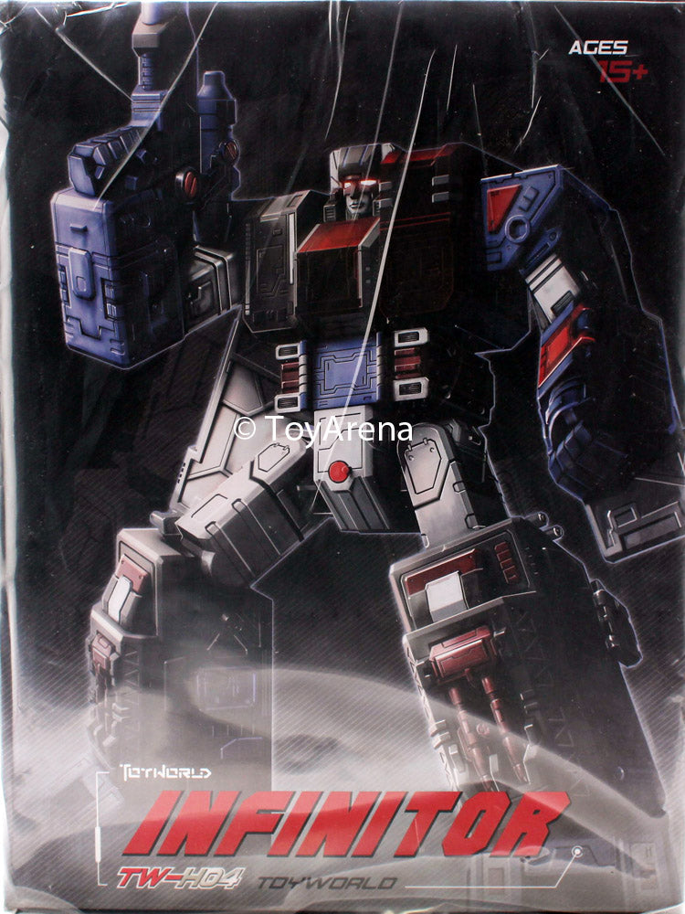 ToyWorld TW-H04 Infinitor Action Figure
