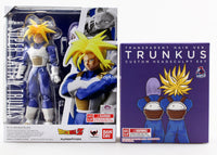 S.H. Figuarts Dragonball Z Super Saiyan Trunks SSJ & Demonical Fit Trunkus Hair Set