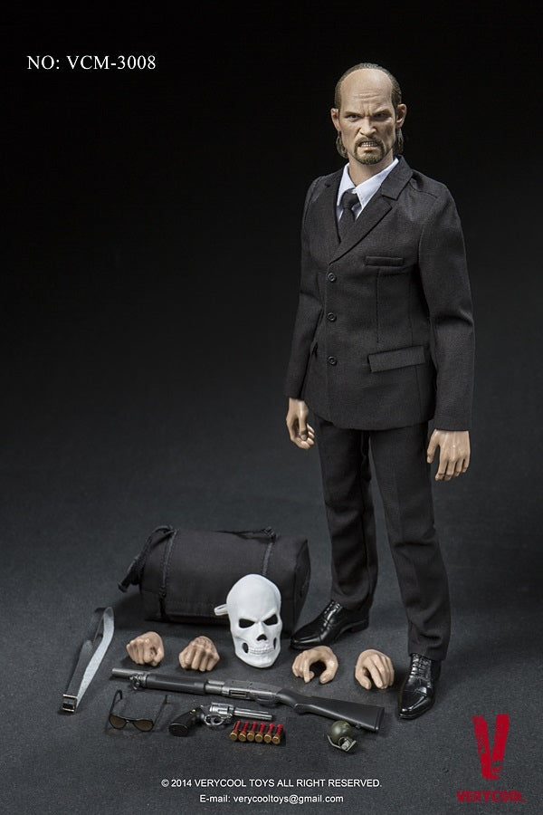 Very Cool 1/6 Scale Medicated Psychopath James Action Figure Box Set VCM-3008