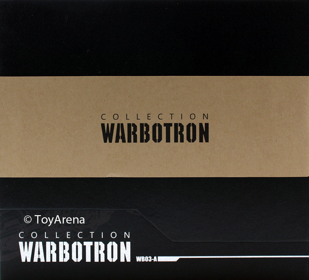 Warbotron WB03-A Turbo Ejector Action Figure